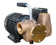 "Utility 80' 1½"" Self-Priming Flexible Impeller Pump 230volt/1 phase/50Hz a.c. For Lube Oil"